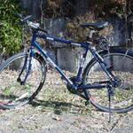 自転車のメンテナンス。